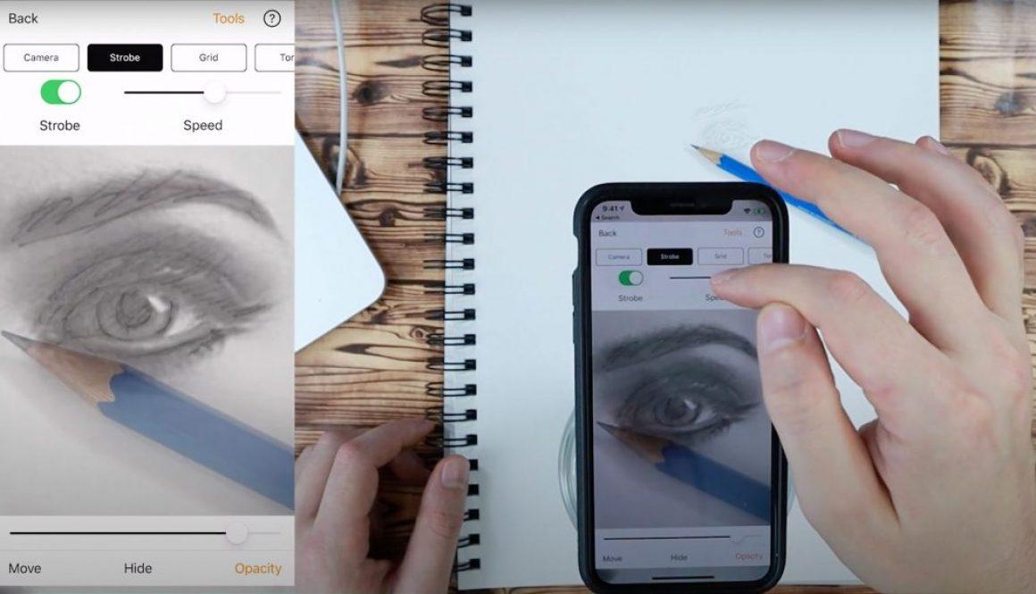 Camera lucida Camera Obscura app Da Vinci Eye Projector